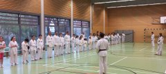 Training in der Eichgrundschule