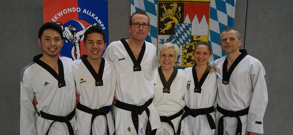 Taekwondo Großmeister Kerstin und Markus Koch.